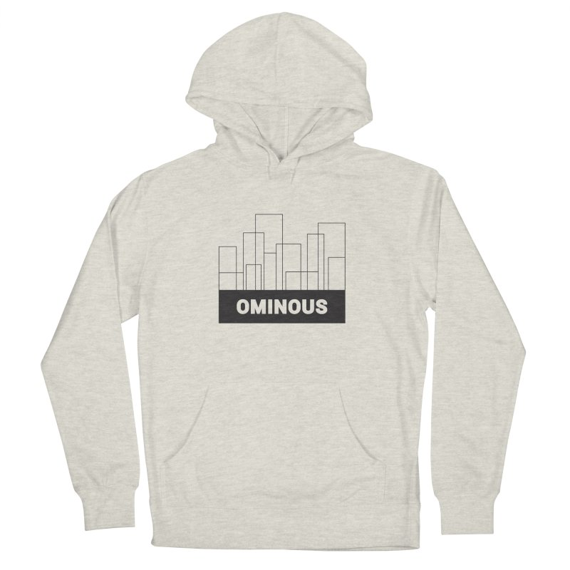 Sky-lines Men's French Terry Pullover Hoody by Ominous Artist Shop