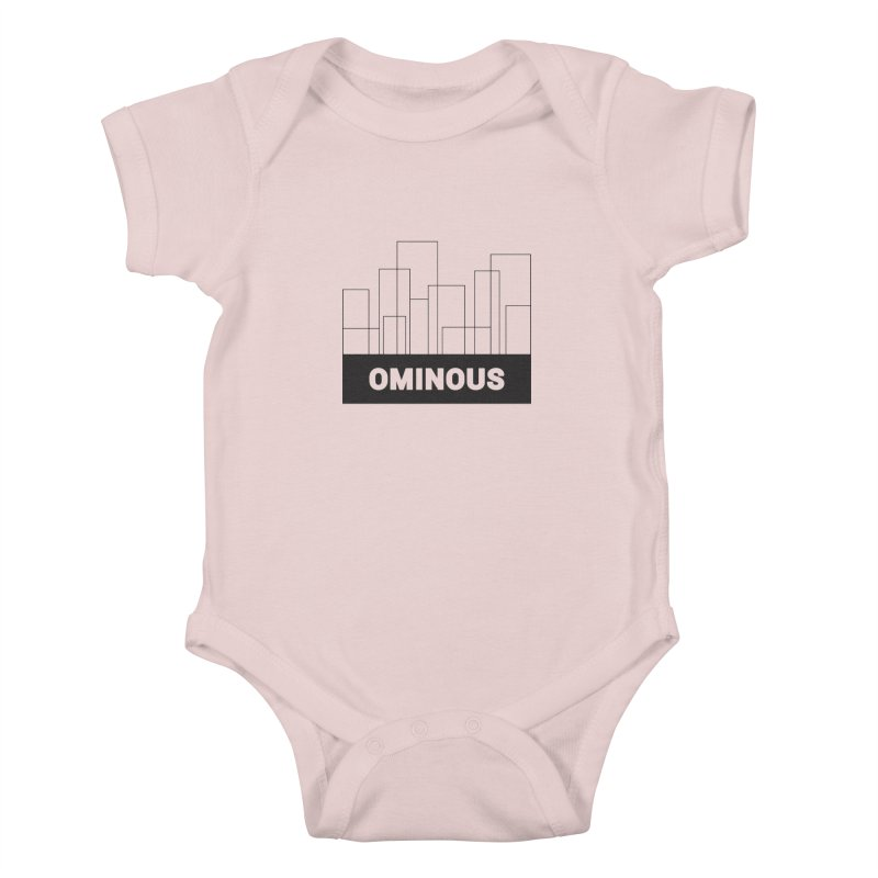 Sky-lines Kids Baby Bodysuit by Ominous Artist Shop