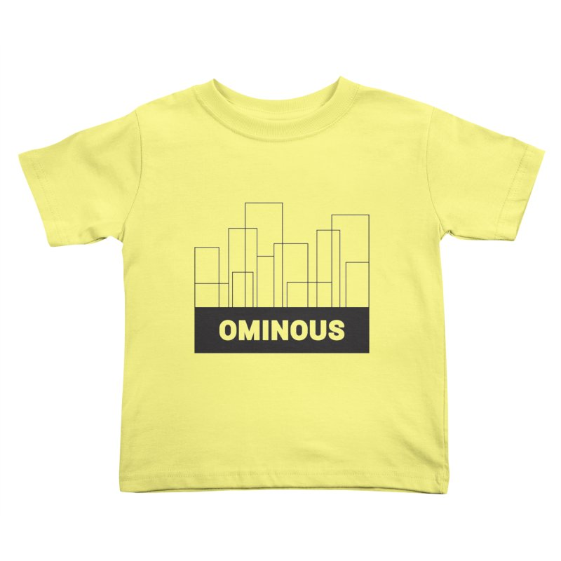 Sky-lines Kids Toddler T-Shirt by Ominous Artist Shop