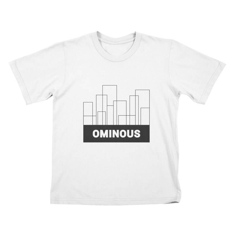 Sky-lines Kids T-Shirt by Ominous Artist Shop
