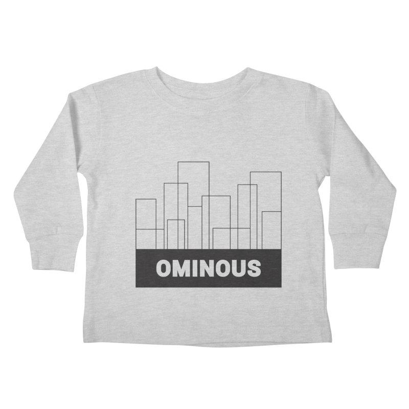Sky-lines Kids Toddler Longsleeve T-Shirt by Ominous Artist Shop
