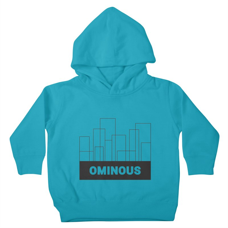 Sky-lines Kids Toddler Pullover Hoody by Ominous Artist Shop