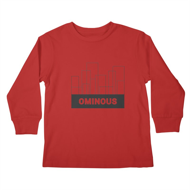 Sky-lines Kids Longsleeve T-Shirt by Ominous Artist Shop