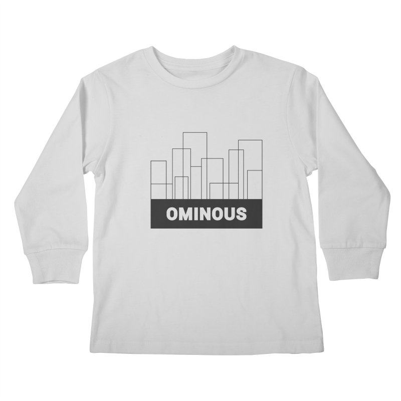 Sky-lines Kids Longsleeve T-Shirt by Ominous Artist Shop