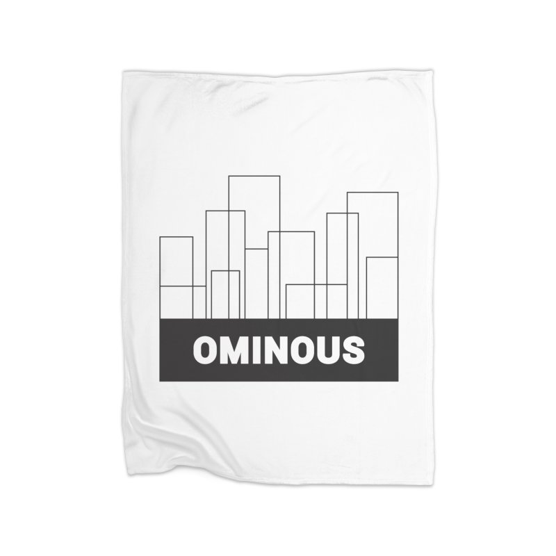 Sky-lines Home Blanket by Ominous Artist Shop