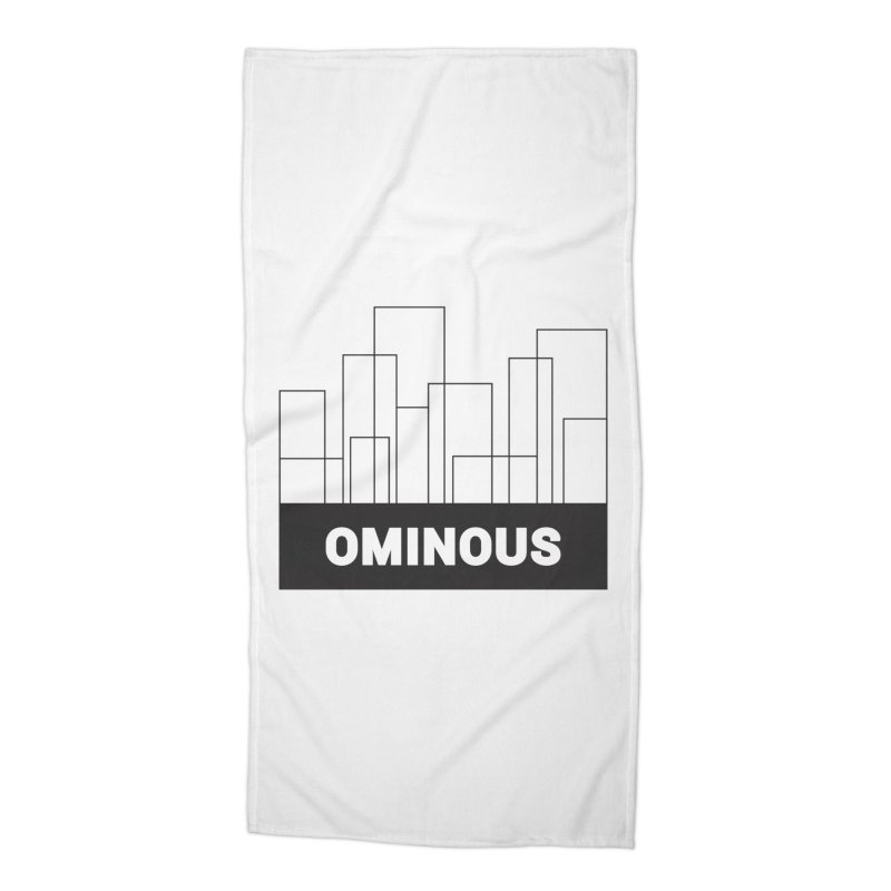 Sky-lines Accessories Beach Towel by Ominous Artist Shop
