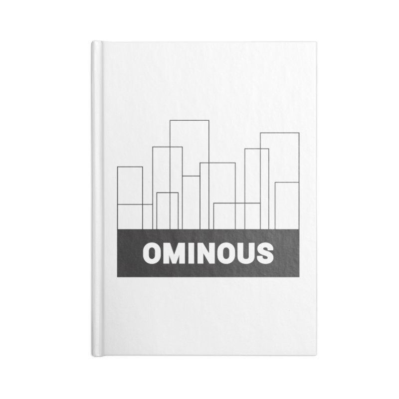 Sky-lines Accessories Notebook by Ominous Artist Shop
