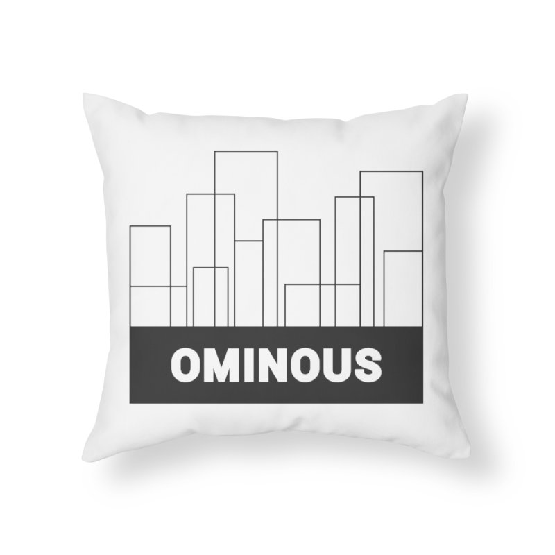 Sky-lines Home Throw Pillow by Ominous Artist Shop
