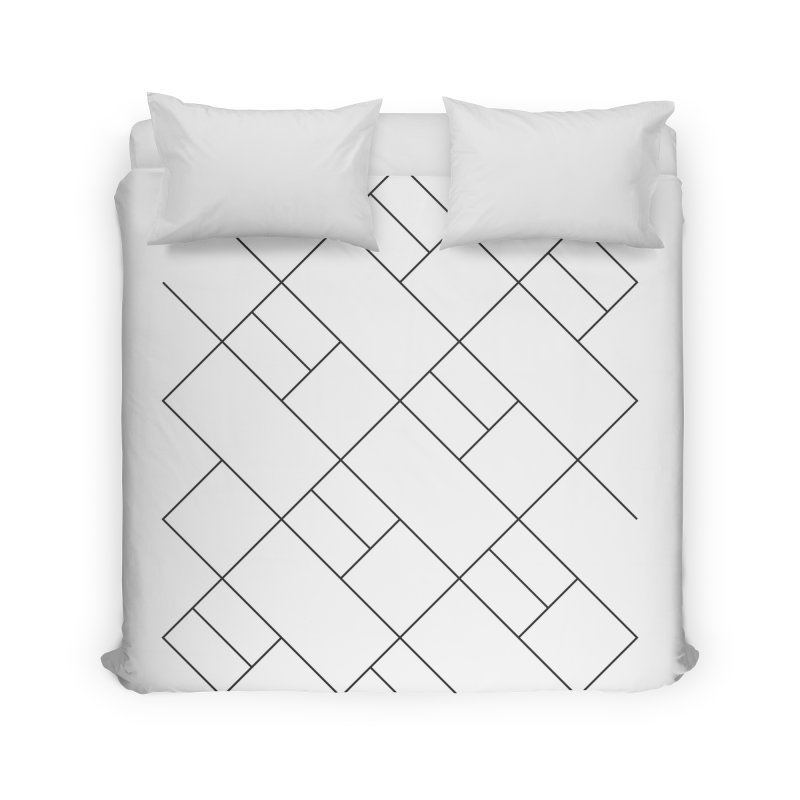 Streets of Simplicity Home Duvet by Ominous Artist Shop