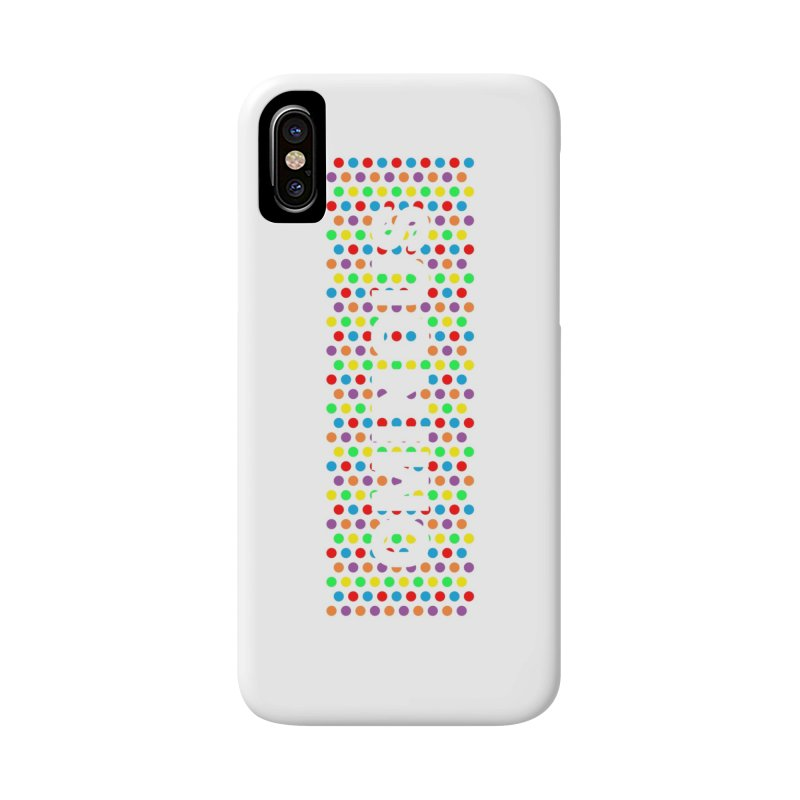 Ominous Dots Multi-colour Accessories Phone Case by Ominous Artist Shop
