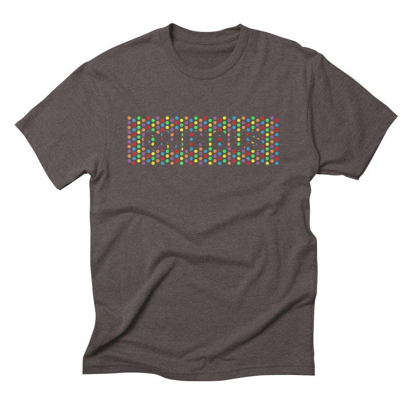 Ominous Dots Multi-colour Men's T-Shirt by Ominous Artist Shop