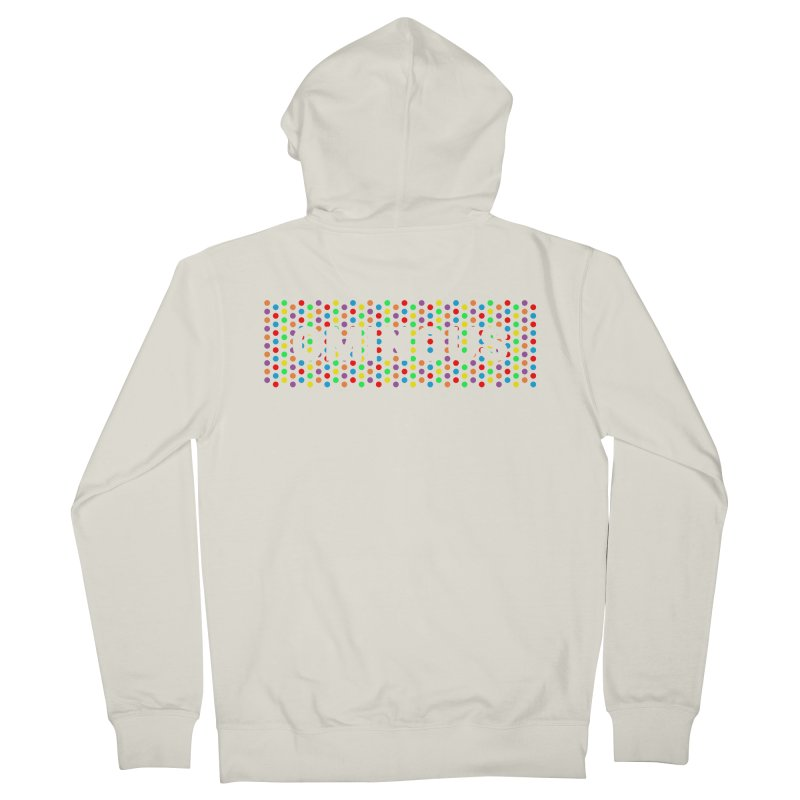 Ominous Dots Multi-colour Men's French Terry Zip-Up Hoody by Ominous Artist Shop