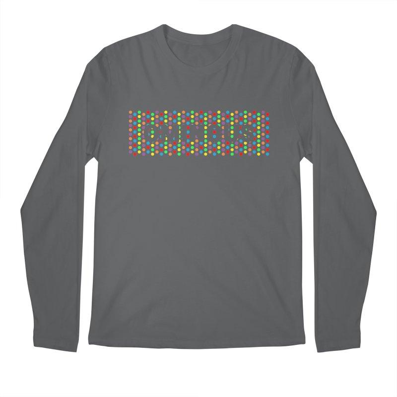 Ominous Dots Multi-colour Men's Longsleeve T-Shirt by Ominous Artist Shop