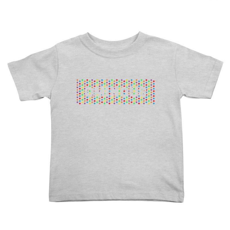 Ominous Dots Multi-colour Kids Toddler T-Shirt by Ominous Artist Shop