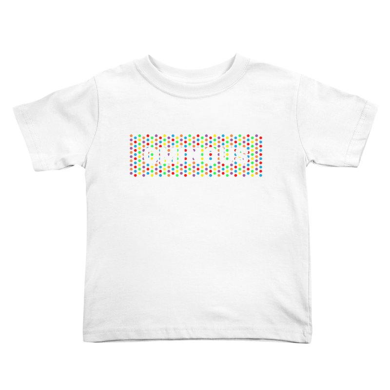 Ominous Dots Multi-colour Kids Toddler T-Shirt by Ominous Artist Shop