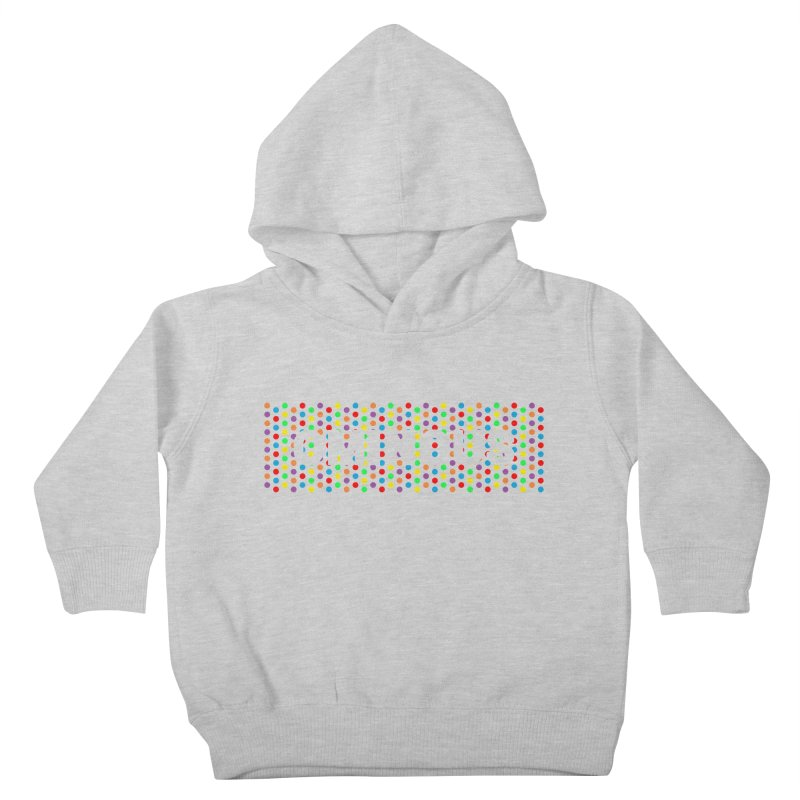 Ominous Dots Multi-colour Kids Toddler Pullover Hoody by Ominous Artist Shop