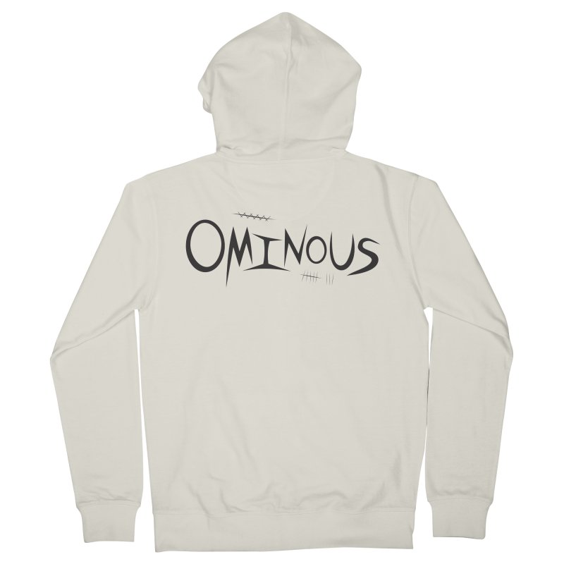 Ominous Insane Men's Zip-Up Hoody by Ominous Artist Shop