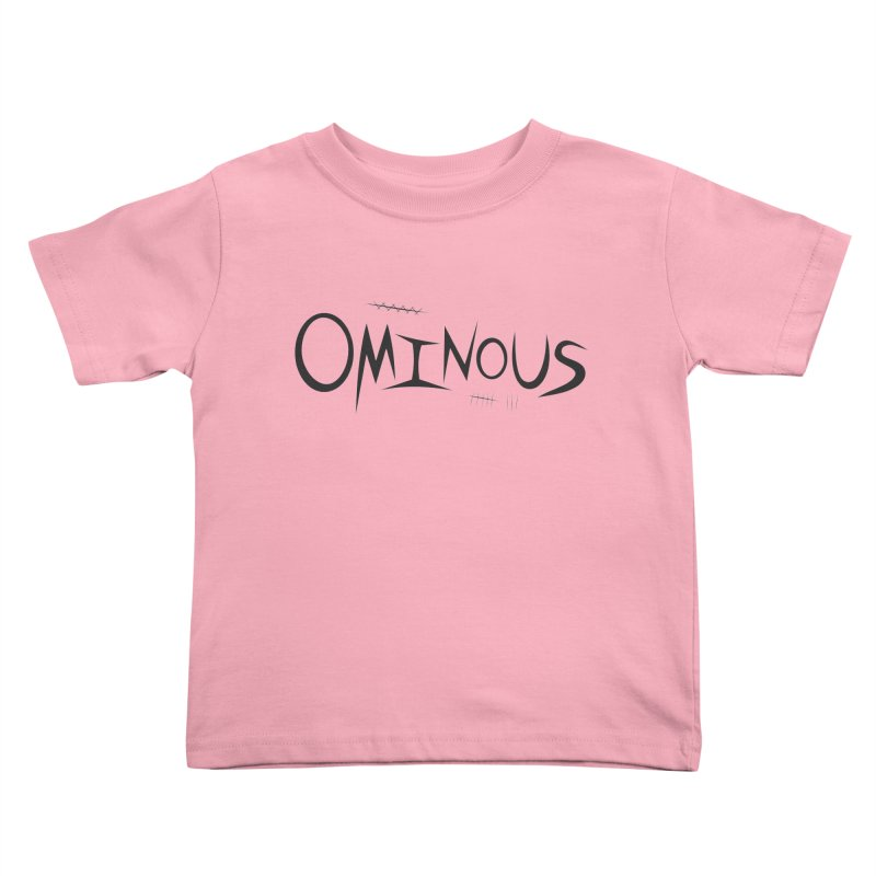 Ominous Insane Kids Toddler T-Shirt by Ominous Artist Shop