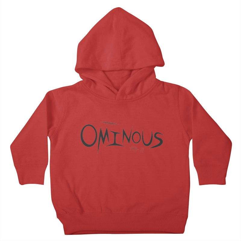 Ominous Insane Kids Toddler Pullover Hoody by Ominous Artist Shop