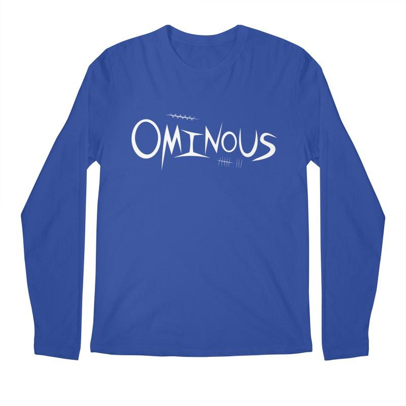 Ominous Insane White Men's Regular Longsleeve T-Shirt by Ominous Artist Shop