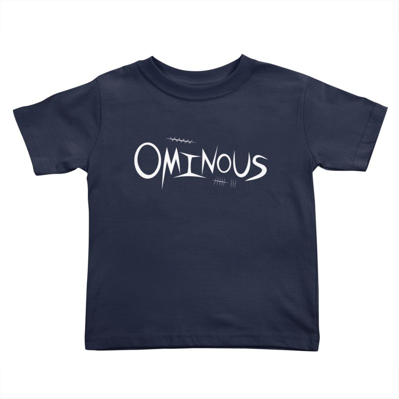 Ominous Insane White Kids Toddler T-Shirt by Ominous Artist Shop