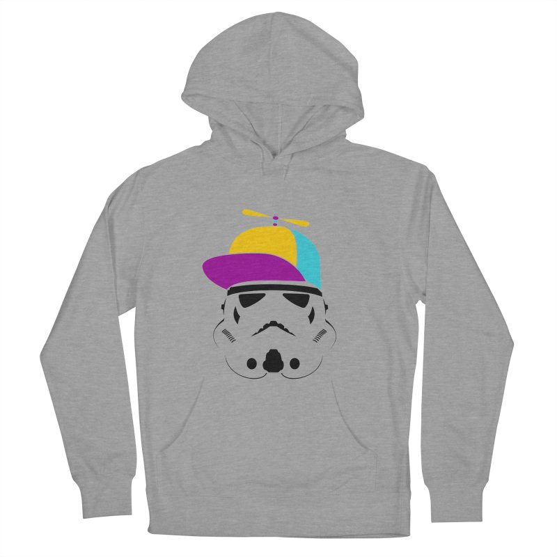 Propeller Trooper Women's French Terry Pullover Hoody by Ominous Artist Shop