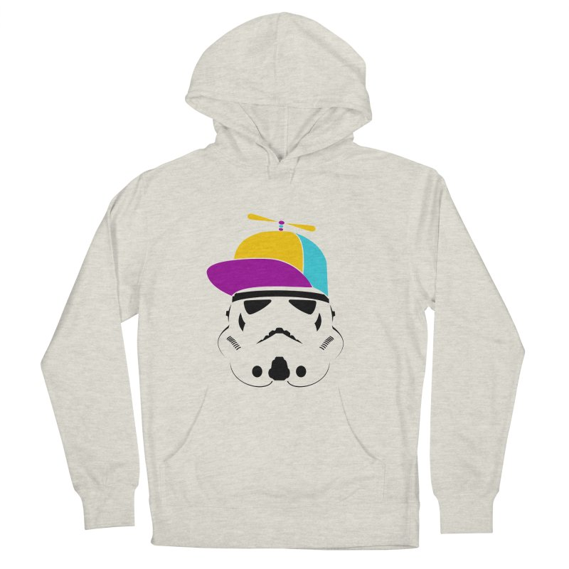 Propeller Trooper Men's French Terry Pullover Hoody by Ominous Artist Shop