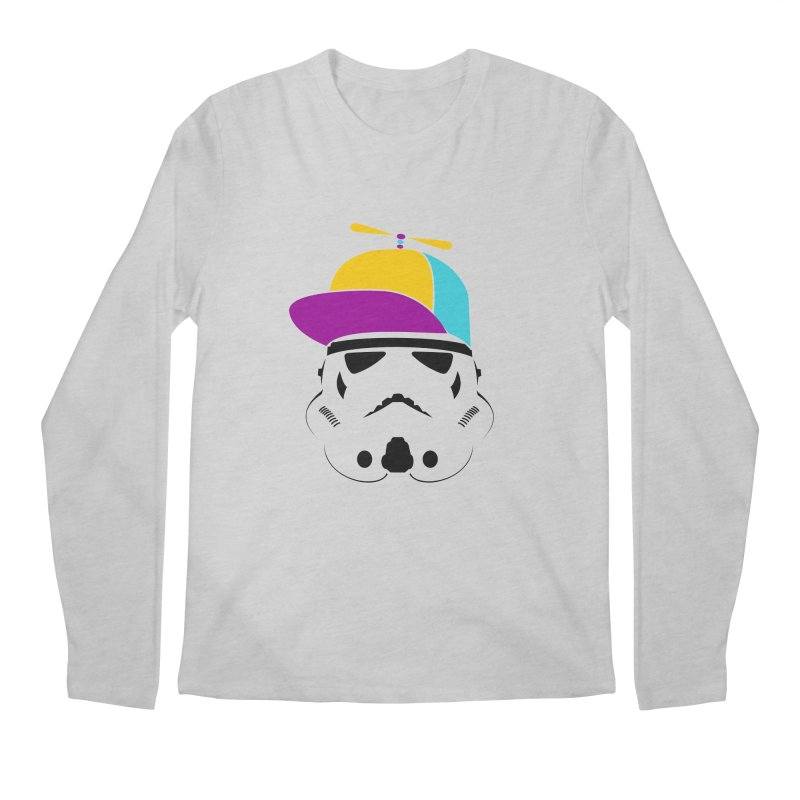 Propeller Trooper Men's Regular Longsleeve T-Shirt by Ominous Artist Shop