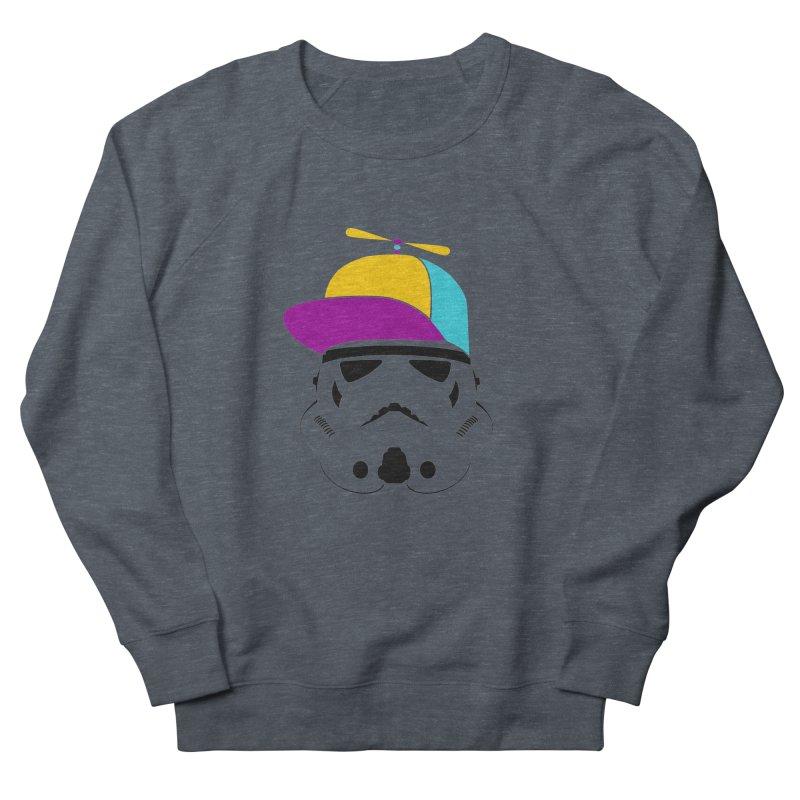 Propeller Trooper Women's French Terry Sweatshirt by Ominous Artist Shop