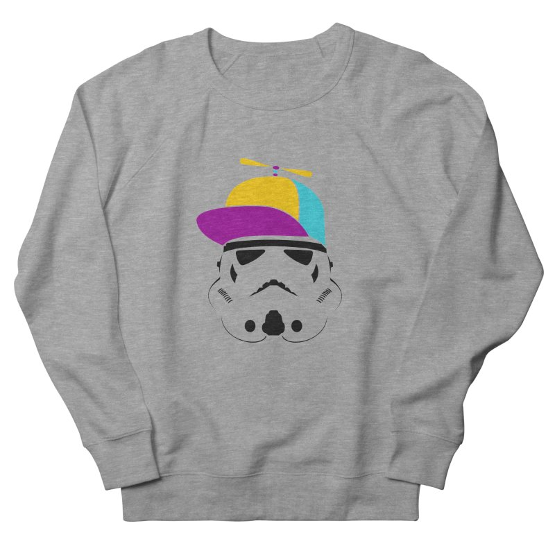 Propeller Trooper Men's French Terry Sweatshirt by Ominous Artist Shop