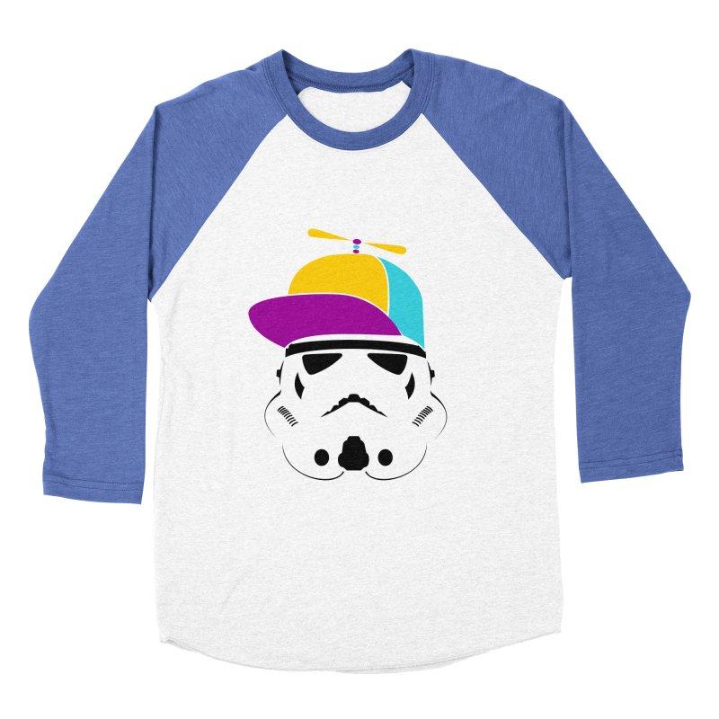 Propeller Trooper Women's Baseball Triblend T-Shirt by Ominous Artist Shop
