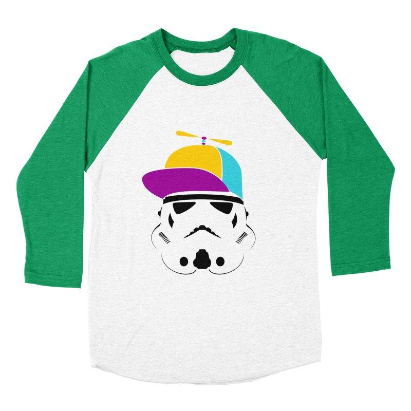 Propeller Trooper Men's Baseball Triblend Longsleeve T-Shirt by Ominous Artist Shop