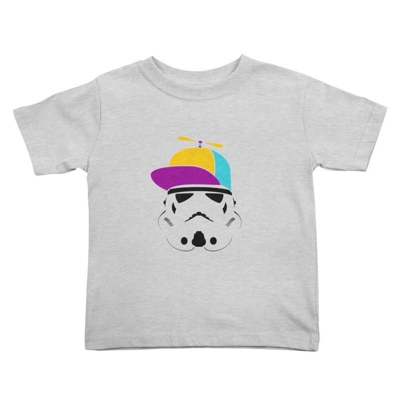 Propeller Trooper Kids Toddler T-Shirt by Ominous Artist Shop