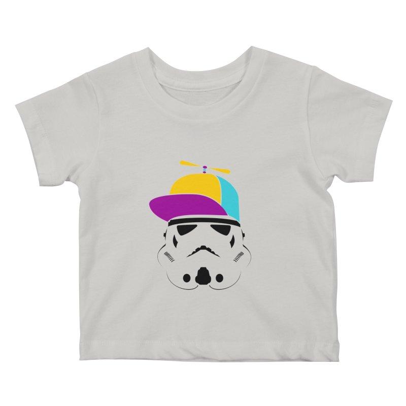 Propeller Trooper Kids Baby T-Shirt by Ominous Artist Shop