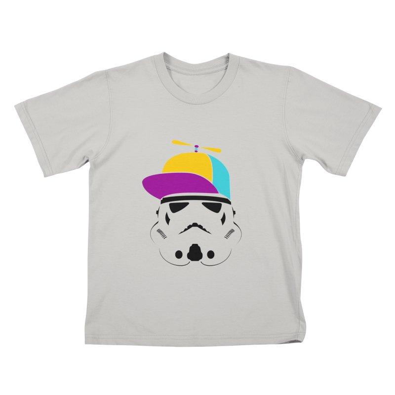 Propeller Trooper Kids T-Shirt by Ominous Artist Shop