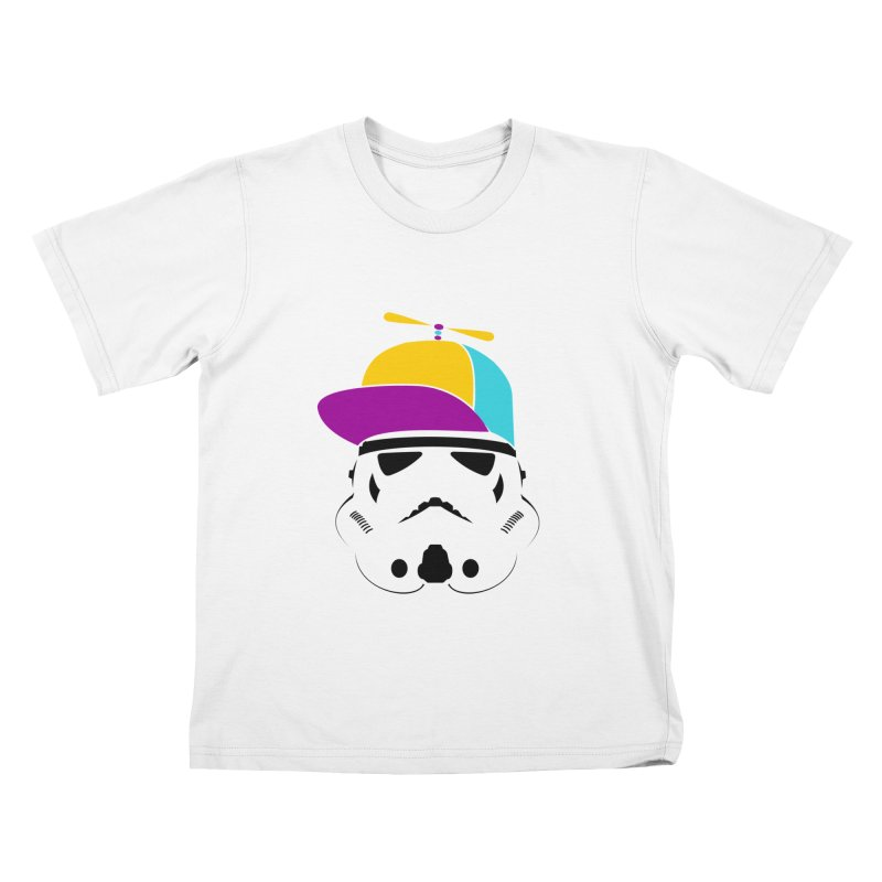 Propeller Trooper Kids T-Shirt by Ominous Artist Shop