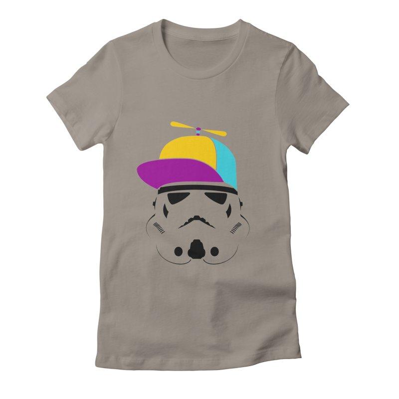 Propeller Trooper Women's Fitted T-Shirt by Ominous Artist Shop