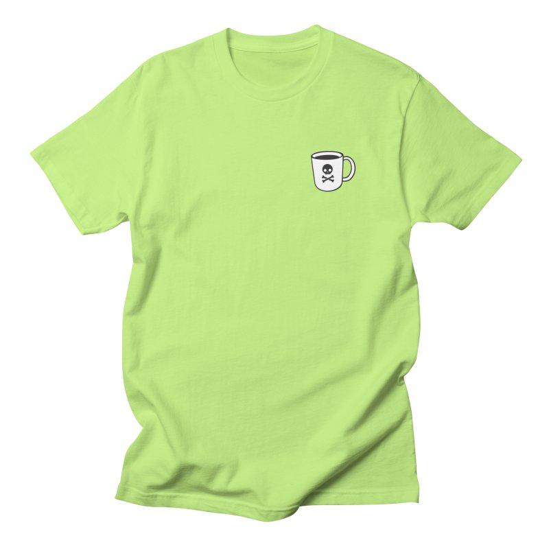 Coffee & Crossbones Men's T-Shirt by Ominous Artist Shop