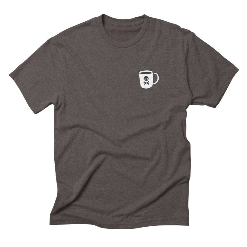 Coffee & Crossbones Men's Triblend T-Shirt by Ominous Artist Shop