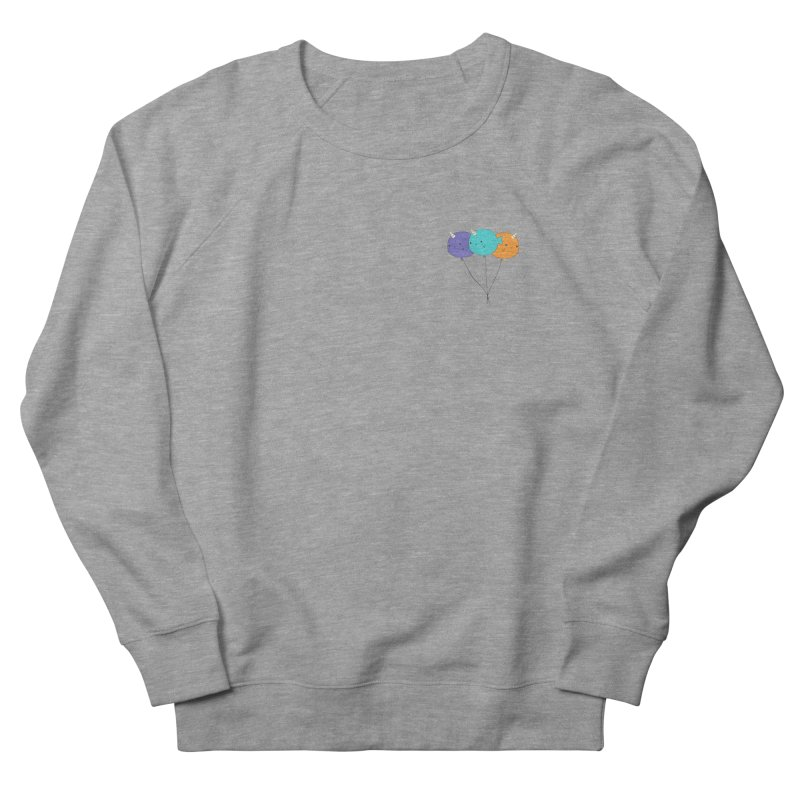 Narwhal Balloons Men's French Terry Sweatshirt by Ominous Artist Shop