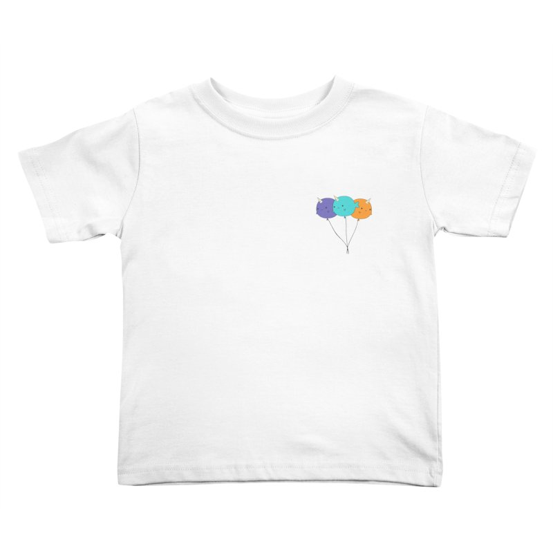 Narwhal Balloons Kids Toddler T-Shirt by Ominous Artist Shop