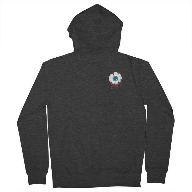 Enucleation Men's French Terry Zip-Up Hoody by Ominous Artist Shop