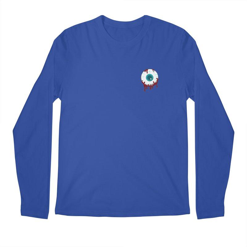 Enucleation Men's Longsleeve T-Shirt by Ominous Artist Shop