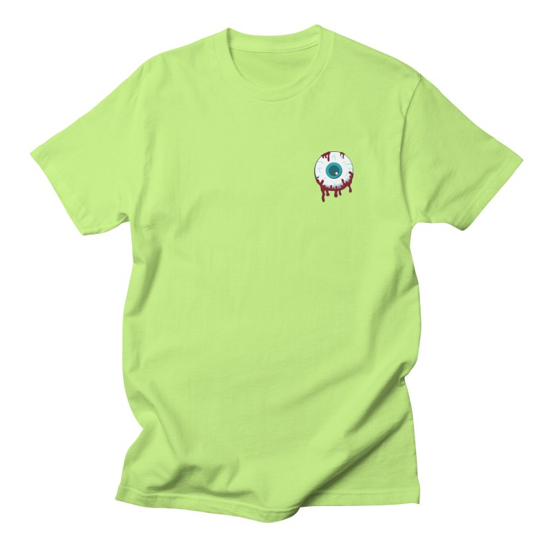 Enucleation Women's Regular Unisex T-Shirt by Ominous Artist Shop