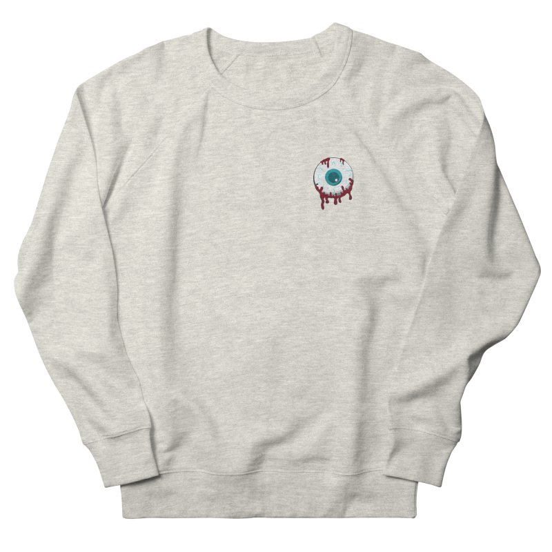 Enucleation Women's French Terry Sweatshirt by Ominous Artist Shop