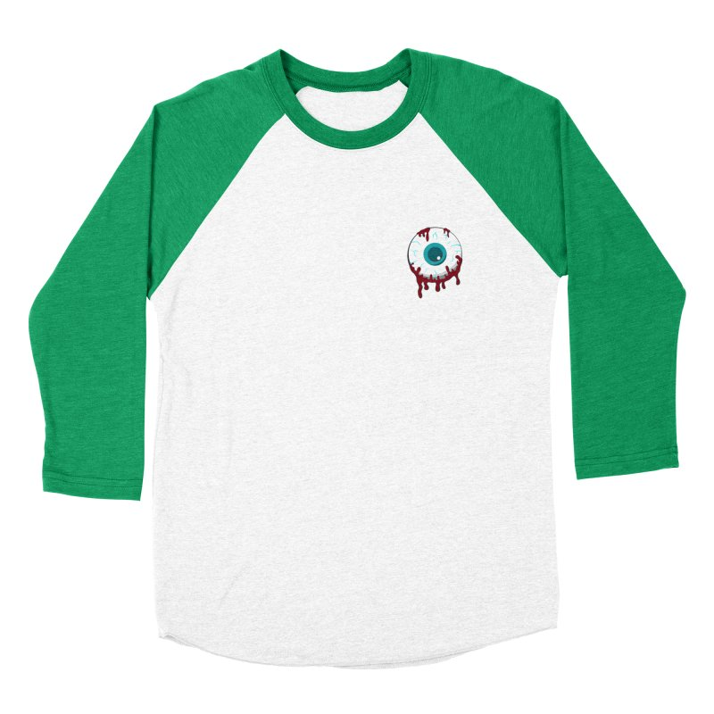 Enucleation Men's Baseball Triblend Longsleeve T-Shirt by Ominous Artist Shop