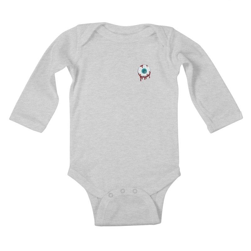 Enucleation Kids Baby Longsleeve Bodysuit by Ominous Artist Shop