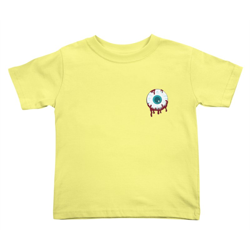 Enucleation Kids Toddler T-Shirt by Ominous Artist Shop