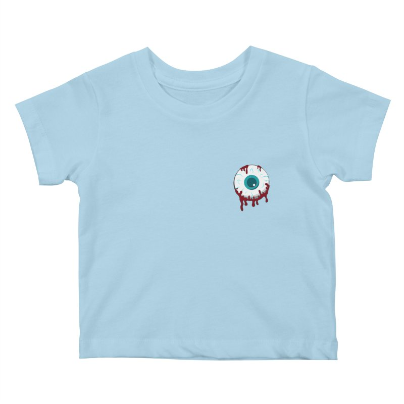 Enucleation Kids Baby T-Shirt by Ominous Artist Shop