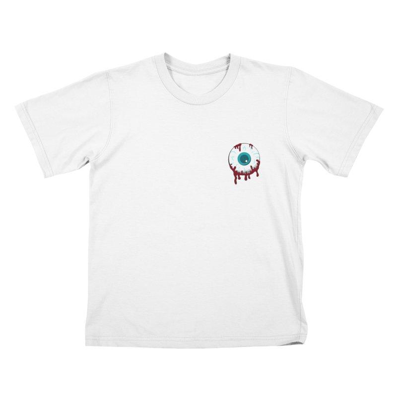Enucleation Kids T-Shirt by Ominous Artist Shop